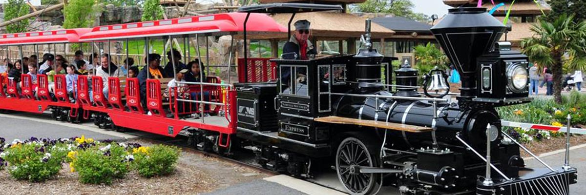 virginia zoo train
