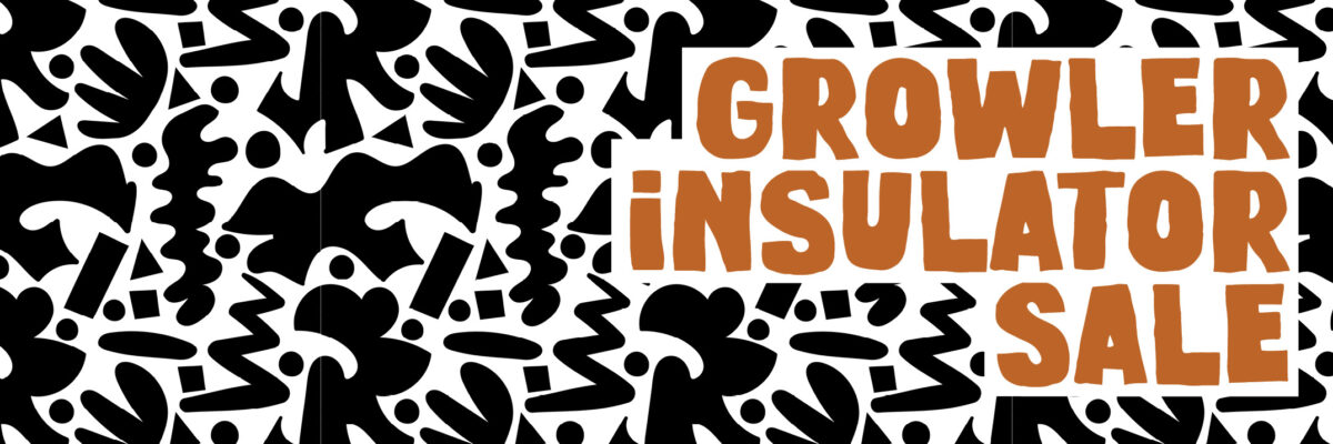 Growler Insulator sale graphic